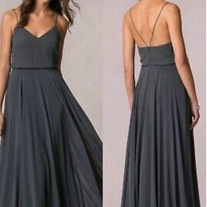 Jenny Yoo Inesse Gown in Storm